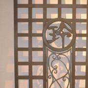 個人住宅 子供部屋窓格子